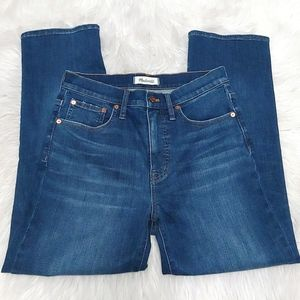 Madewell Cali Demi Boot Blue Jeans Size 28
